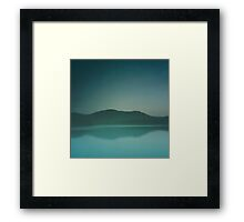 Lakeside Drive Framed Print