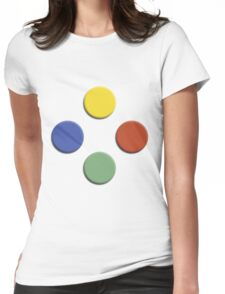 xbox buttons Womens Fitted T-Shirt