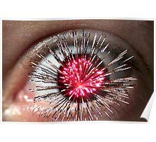 Exploding Eye Poster
