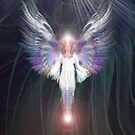 Hot footing Angel by Bill Brouard