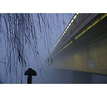 Yup, The Weather Bureau Was Right About The Fog Photographic Print