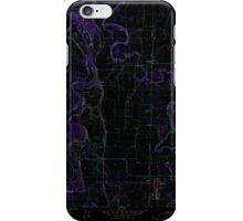 USGS Topo Map Oregon Peoria 281072 1969 24000 Inverted iPhone Case/Skin