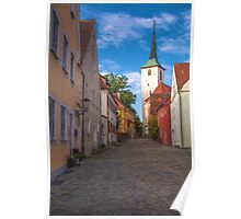 Klostergasse - Vilseck, Germany Poster