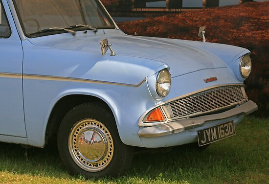 Ford Anglia by RedHillDigital