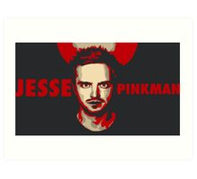 Jesse pinkman artwork Art Print