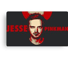 Jesse pinkman artwork Canvas Print