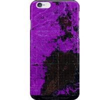 USGS Topo Map Oregon Sycan Marsh 282939 1960 62500 Inverted iPhone Case/Skin