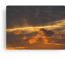 Proclamation clouds Canvas Print
