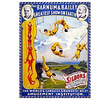 The Barnum & Bailey 1896 Vintage Poster Restored Photographic Print
