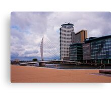 New home of BBC Canvas Print