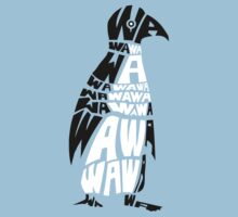 penguin wa wa wa by Jonah Block