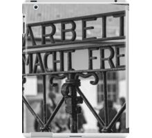 Dachau Gate iPad Case/Skin