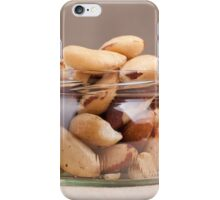 Brazil nuts from Bertholletia excelsa iPhone Case/Skin