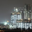 Kota Kasablanka (under construction, by night) by Property & Construction Photography