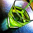 Green syrup... by Kornrawiee