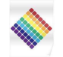 Rainbow Diamond Poster