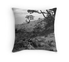 On Slemish, St. Patrick's Mountain Throw Pillow