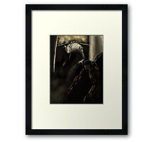 Young Dragon Slayer Framed Print