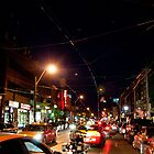 Little Italy On A Saturday Night by Gary Chapple
