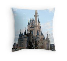 it was all started by a mouse... Throw Pillow