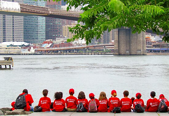 Summer Camp lunch line-up - NYC by Alberto  DeJesus