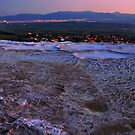 Pamukkale by Night by Peter Hammer