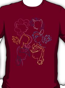 Main 6 Group Outline T-Shirt