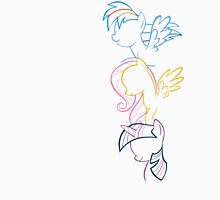 RDB, Fluttershy & Twilight (Left) Unisex T-Shirt