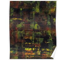 Abstract vintage colors Poster