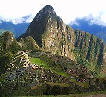 Machu Picchu  - Wayna Pichu. by Honor Kyne