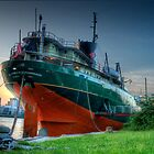 Tail of a Ship by Mariano57