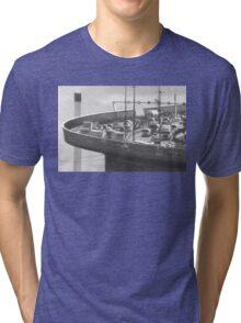 Hole in the Fence - West Gate Bridge Tri-blend T-Shirt