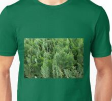 Green Thujas foliage abstract Unisex T-Shirt