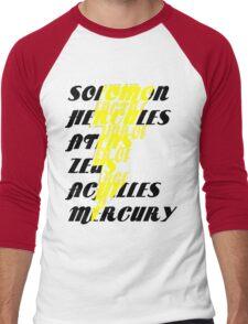 Shazam! Men's Baseball ¾ T-Shirt