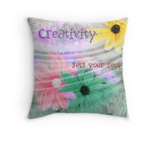 Creativity... Throw Pillow