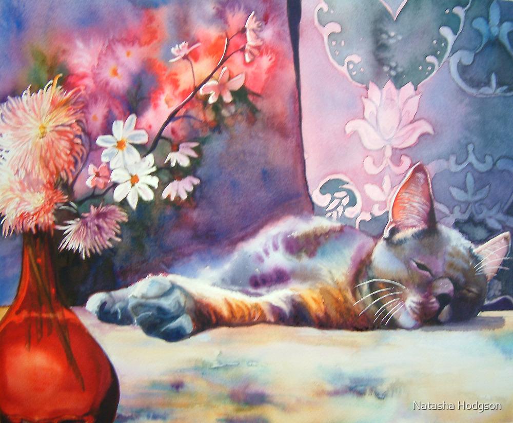 Feline repose by Natasha Hodgson