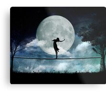 Giddy by Moonlight Metal Print