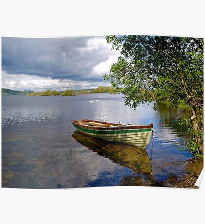 Peaceful moment in Connemara Poster