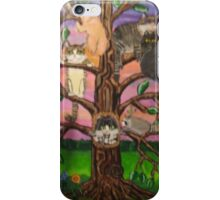 Cats in a Tree iPhone Case/Skin