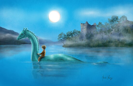 Sailing Nessie by amalou