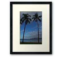 Ala Moana Park Honolulu HI Framed Print