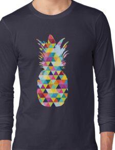 Rainbow Pineapple  Long Sleeve T-Shirt