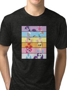 6 Mane MED Tri-blend T-Shirt