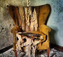 Back Stage Seat by MJD Photography  Portraits and Abandoned Ruins