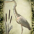 Le Heron by MarieG