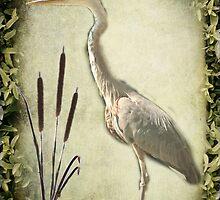 Le Heron by MarieG