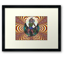 Alien World of Spectronian Framed Print