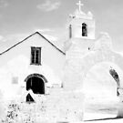Spanish Style Chapel - San Pedro de Atacama by Honor Kyne