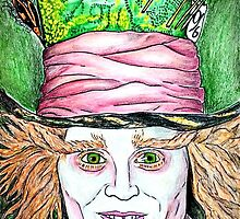 The Mad Hatter by shawkeen