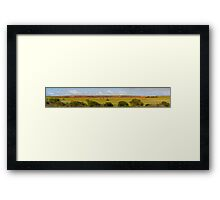 Northhampton Farmlands Framed Print